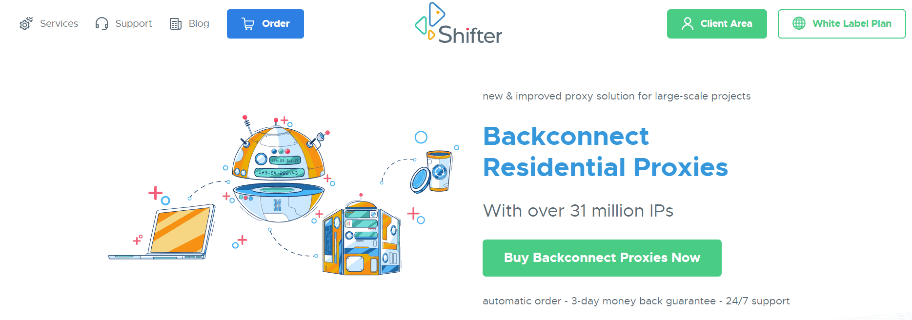 shifter homepage
